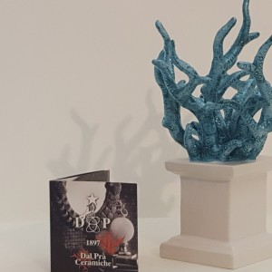 Ciuffo Corallo turchese medio