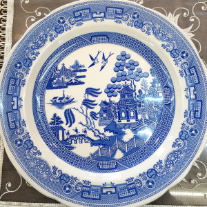 Piatto murale Blue Italian