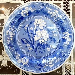 Piatto murale decoro floreale