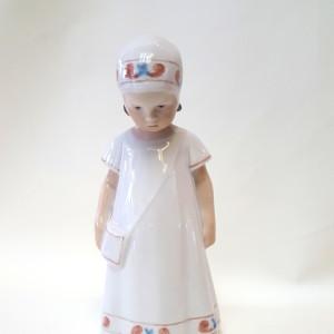 Elsa con vestito bianco