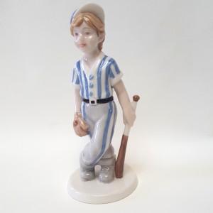 Bimbo giocatore di baseball