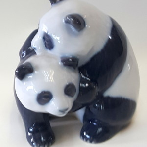 Animali Panda che giocano