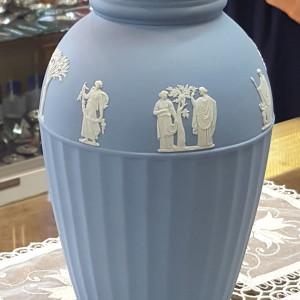 Vaso azzurro Jasper