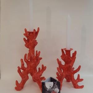 Candeliere Madrepora rossa grande