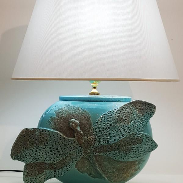 Lampada Dragonfly Turchese