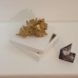 Portagioielli Conchiglia oro