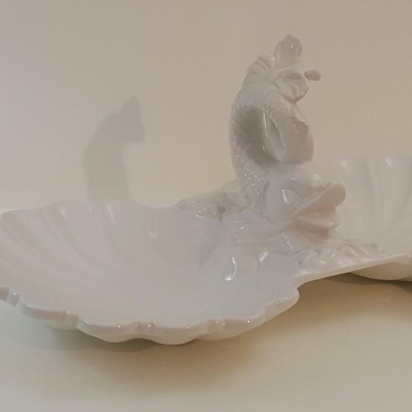 Antipastiera Delfino bianca