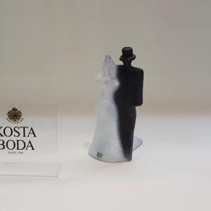 Kosta Boda Catwalk Bridal Couple