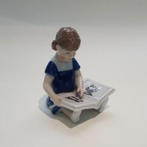 Elsa che legge