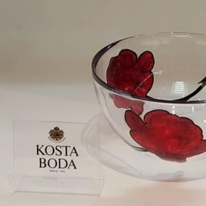 Kosta Boda Tattoo coppa grande