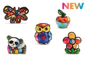 Romero Britto. New!