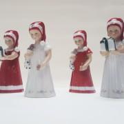 Elsa Vestito Rosso e Pacco Regalo