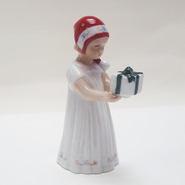 Elsa Vestito Bianco e Pacco Regalo