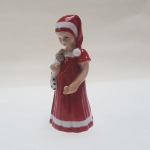 Elsa Vestito Rosso e Calza Befana