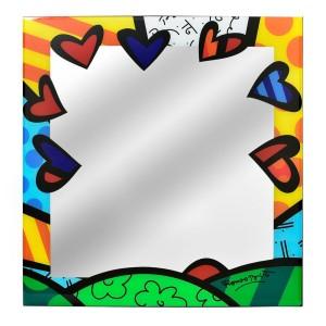 Specchio da parete 60x60 A New Day in vetro
