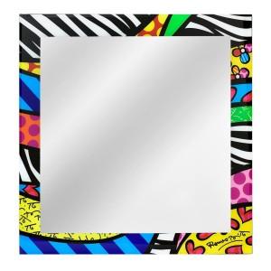Specchio da parete 30x30 Safari