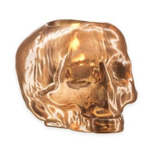 Skull votive Copper