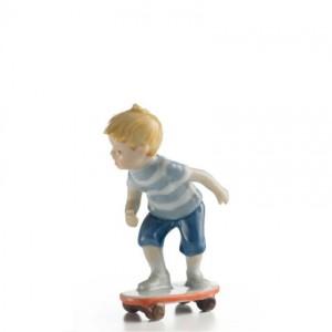 Bimbo sullo Skateboard