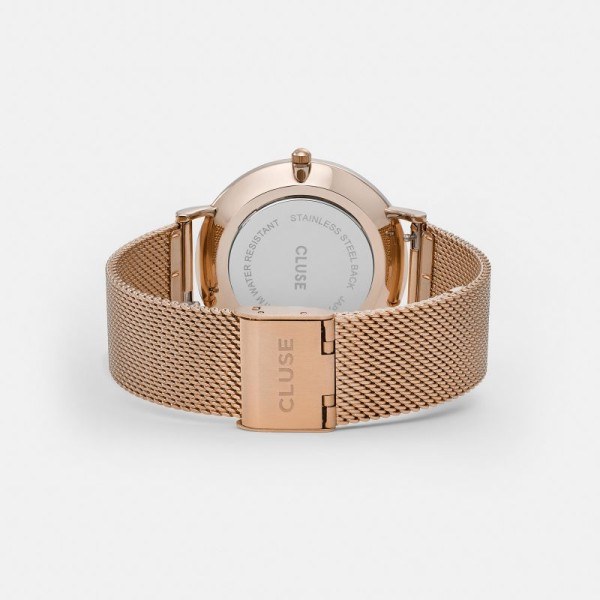La Bohème Mesh Rose Gold White