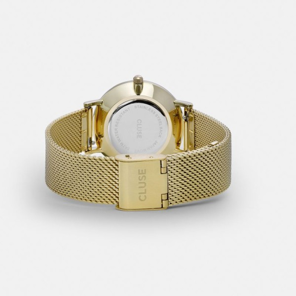 Minuit Mesh Gold White