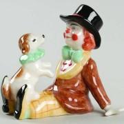Circo mini Pagliaccio con cane