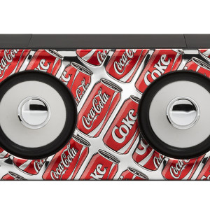 Amplificatore Maxi Nero Pop Art Cans