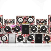Amplificatore Maxi Nero Pop Art Cans