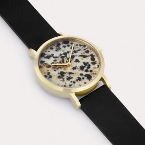 La Roche Petite Gold Dalmatian Black