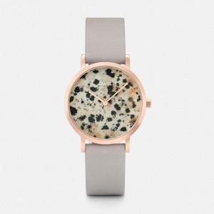 La Roche Petite Rose Gold Dalmatian/Grey