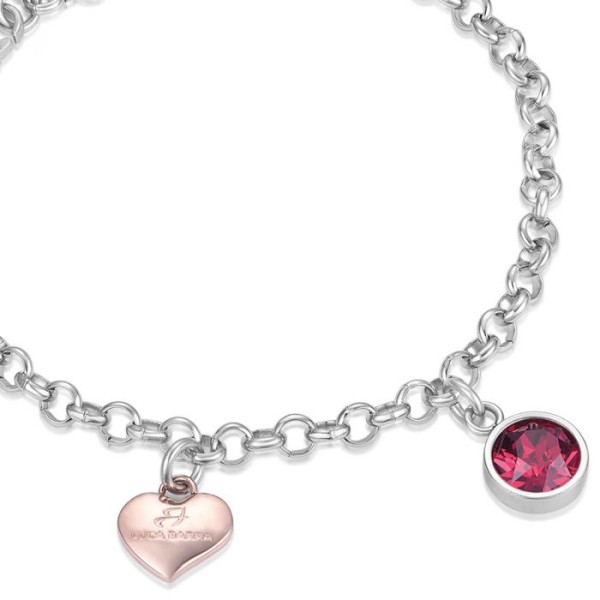 Bracciale Color Life Cristallo Ruby