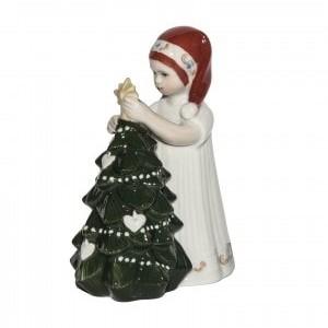 Elsa Vestito Bianco e Albero di Natale