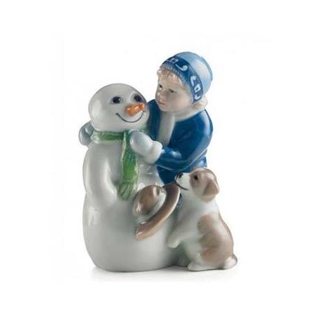Elsa con Pupazzo di Neve