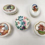 Scatolina Fiori Porcellaine de Paris