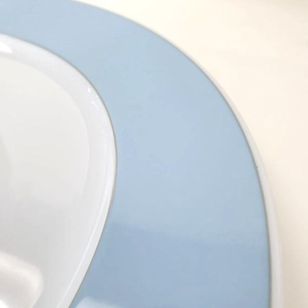 12 Sottopiatti Fascia azzurra