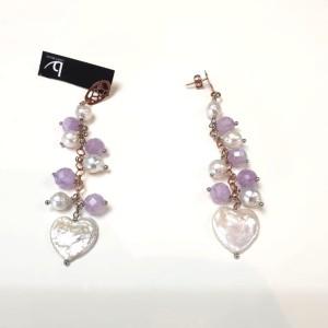 Orecchini Perle barocche e Ametiste