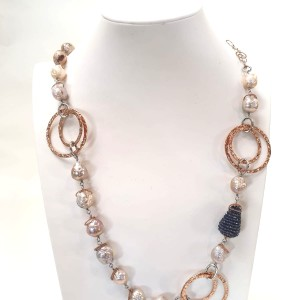Collana Perle Barocche Argento 925