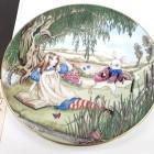 Piatto Collezione Alice et le Lapin Blanc
