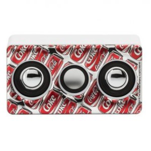 Amplificatore Mini Bianco Pop Art Cans