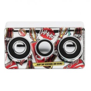 Amplificatore Mini Bianco Pop Art Cartoon