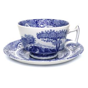 Set 4 Tazze tea Blue Italian