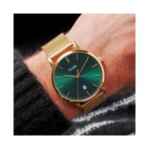 Aravis Mesh Green Gold Colour