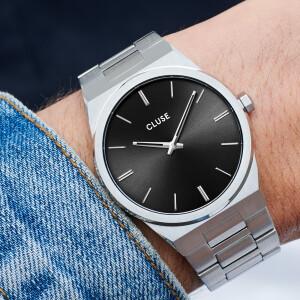 Vigoureux Steel Black Silver Colour