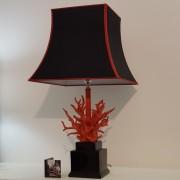 Lampada Corallo rosso