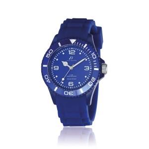 Orologio blu quadrante blu ghiera blu